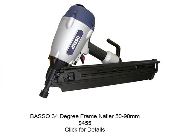 Basso Frame Nailer